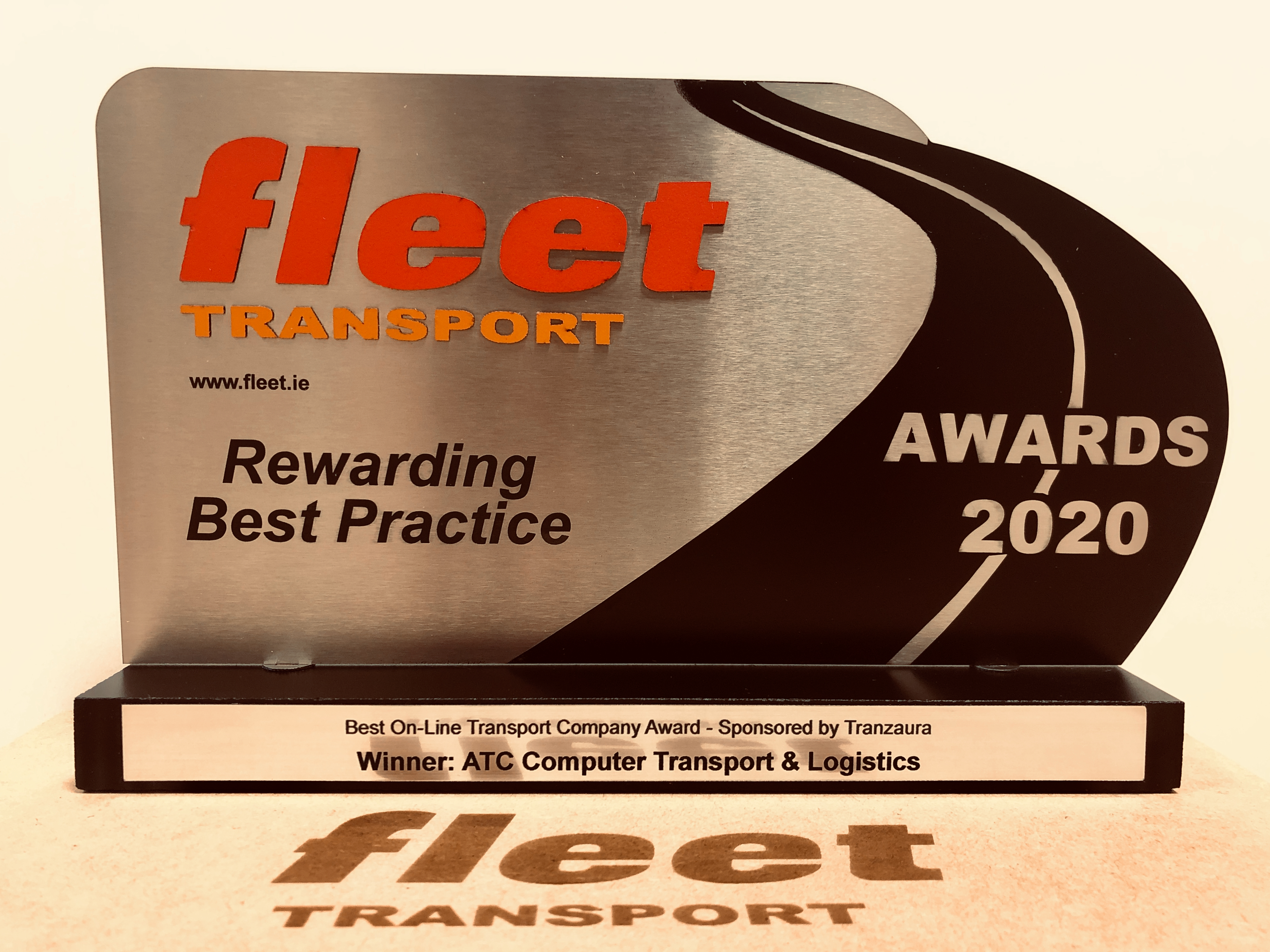 Fleet Transport Award for Best Online Company